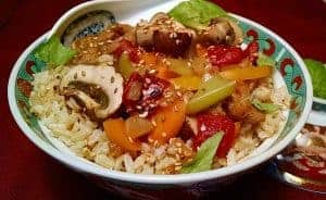 vegan Sweet and Sour Stir Fry