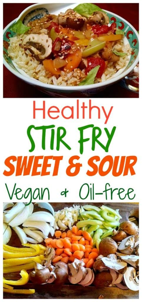 healthy sweet and sour stir fry