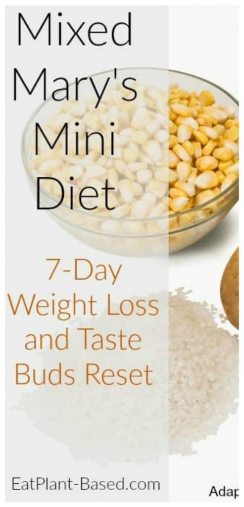 Mixed Mary's Mini Diet
