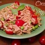 Orzo Basil Veggie Pasta