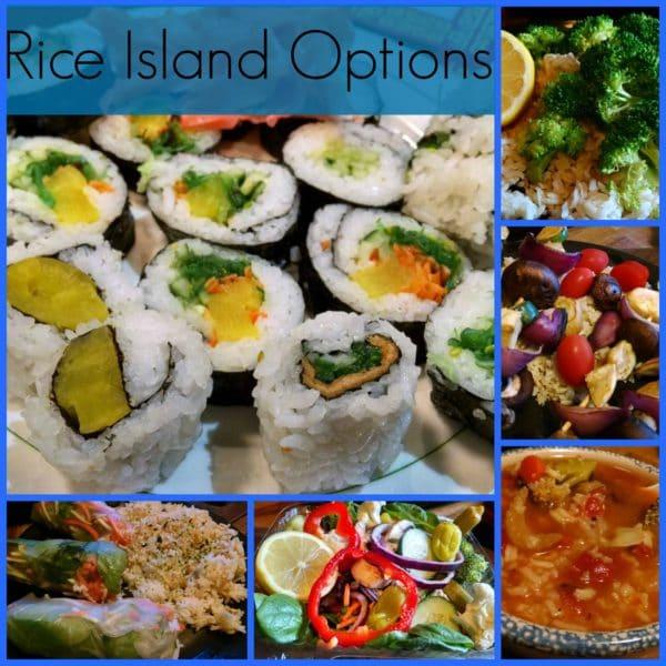 Mixed mary's mini rice island