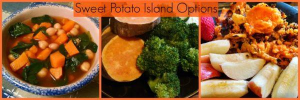 Mixed mary's mini sweet potato island
