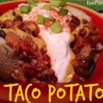 Taco Potato Time