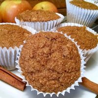 Apple Cinnamon Vegan Muffins