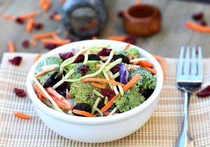 Broccoli Salad | Vegan