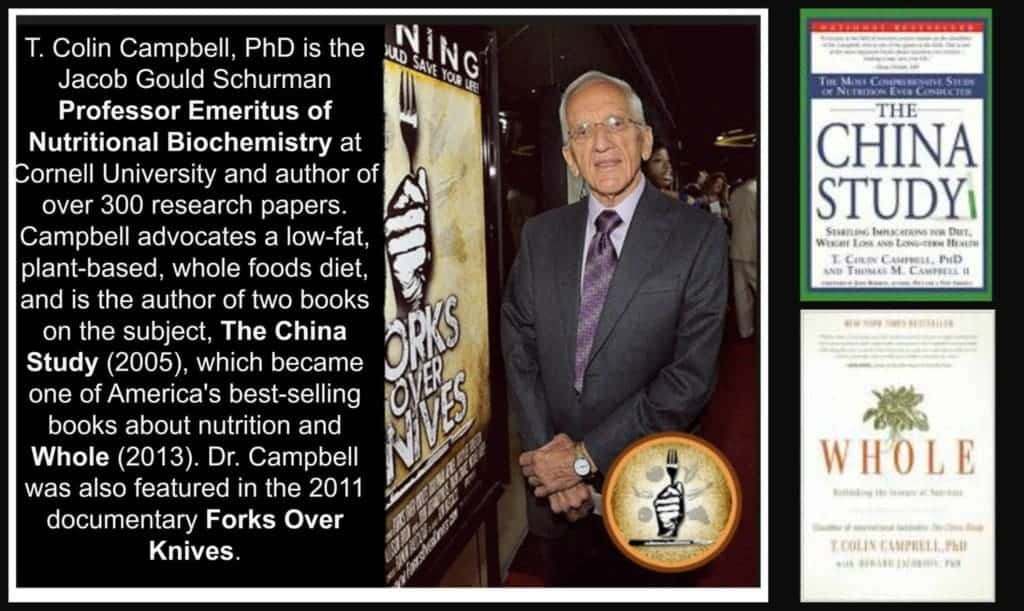 The China Study. Dr. Colin Campbell