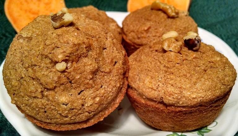 Sweet Potato Muffins 9