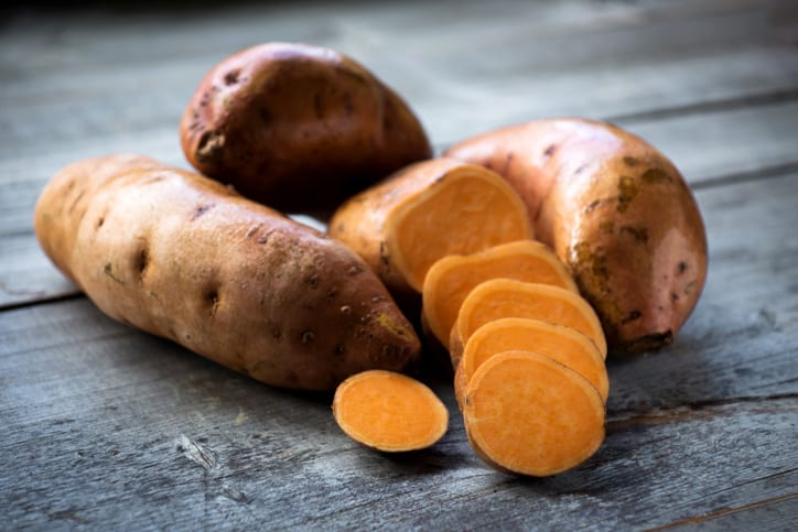 nutrition in sweet potatoes