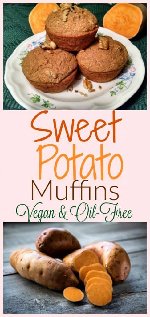 Vegan Sweet Sweet Potato Muffins