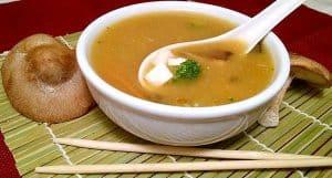 Vegan Miso Soup   Shiitake