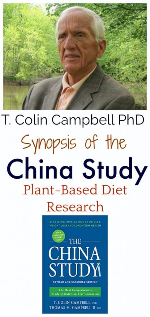 T Colin Campbell PhD