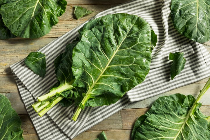 nutrition in collards