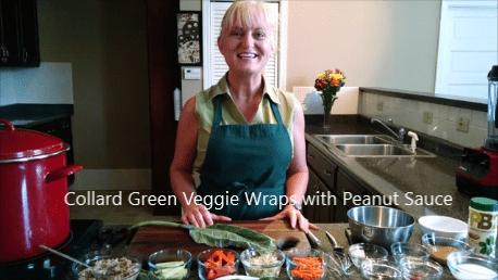 Terri Edwards cooking demo