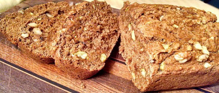 Zucchini Vegan Bread