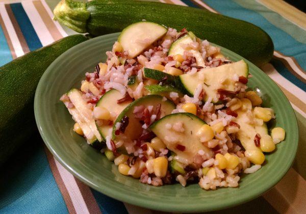 Zucchini Corn Salad