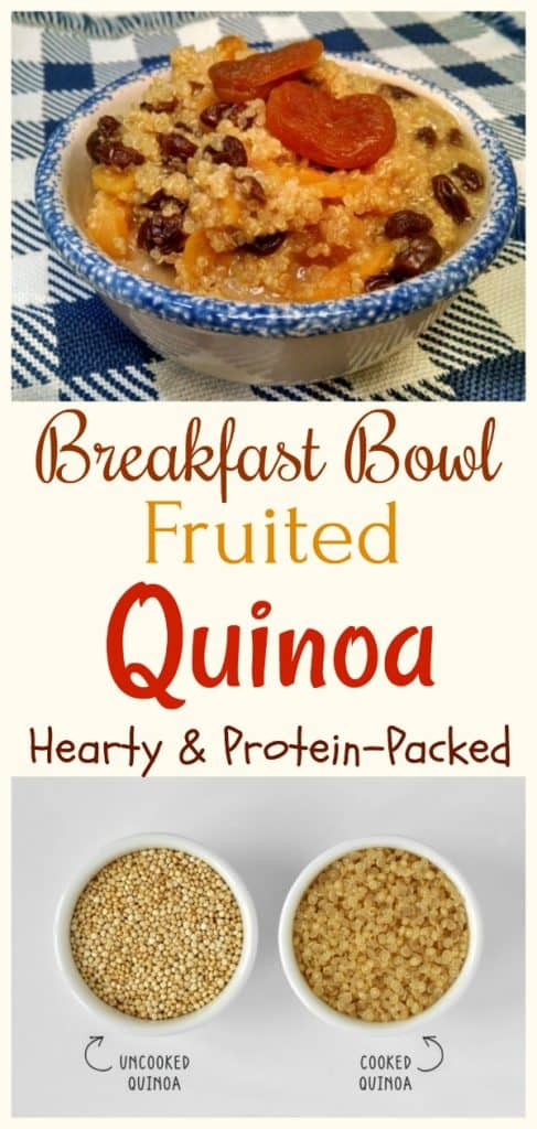 Breakfast Fruited Quinoa