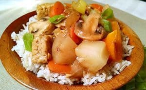 Tempeh Stir Fry | Sweet and Sour