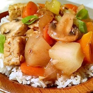 Tempeh Sweet and Sour