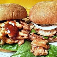 Soy Curls Recipe Best Vegan Barbecue Sandwich