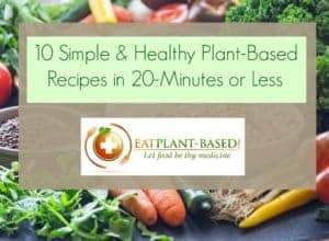 10 Simple & Healthy Plant-Based Recipes in 20-Minutes or Less
