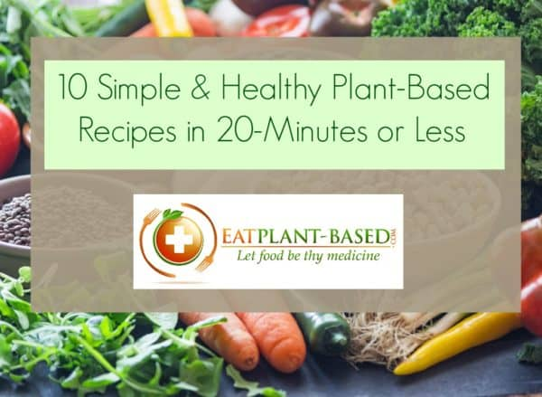 plant based diet recipes for beginners