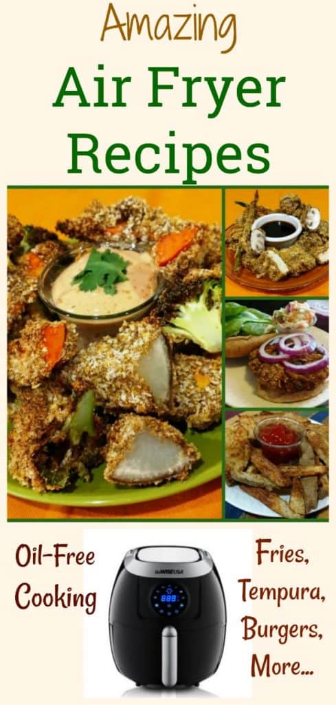 air fryer recipes collage