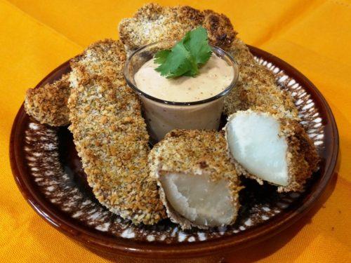 Vegan Air Fryer Recipes jo jo potatoes