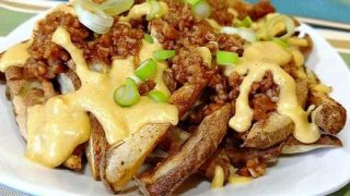 Chili Cheese Fries | Vegan