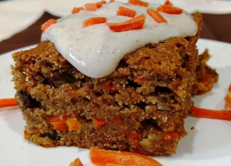 Glazed Vegan Carrot Cake Eatplant Based