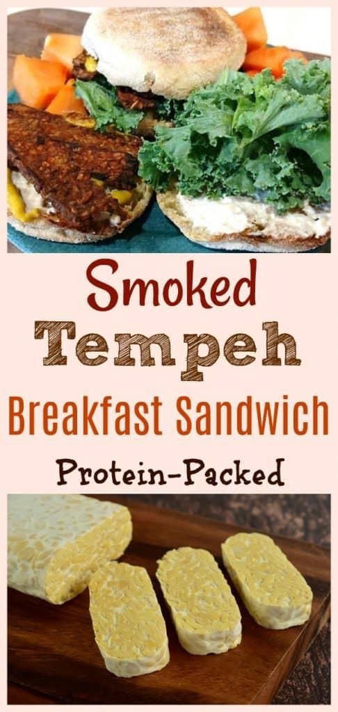 Smoked Tempeh Breakfast Sandwich