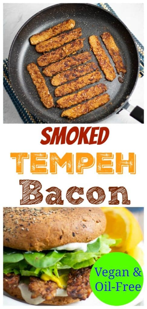 ssmoked tempeh pinterest photo with title