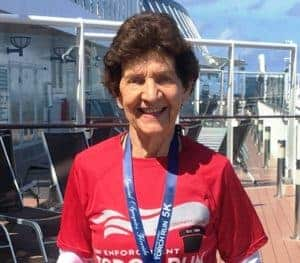 Plant-Based Nanette Rodgers, 84-Years Young & Still Running Races