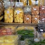 Street food in market in Bangkok Thailand