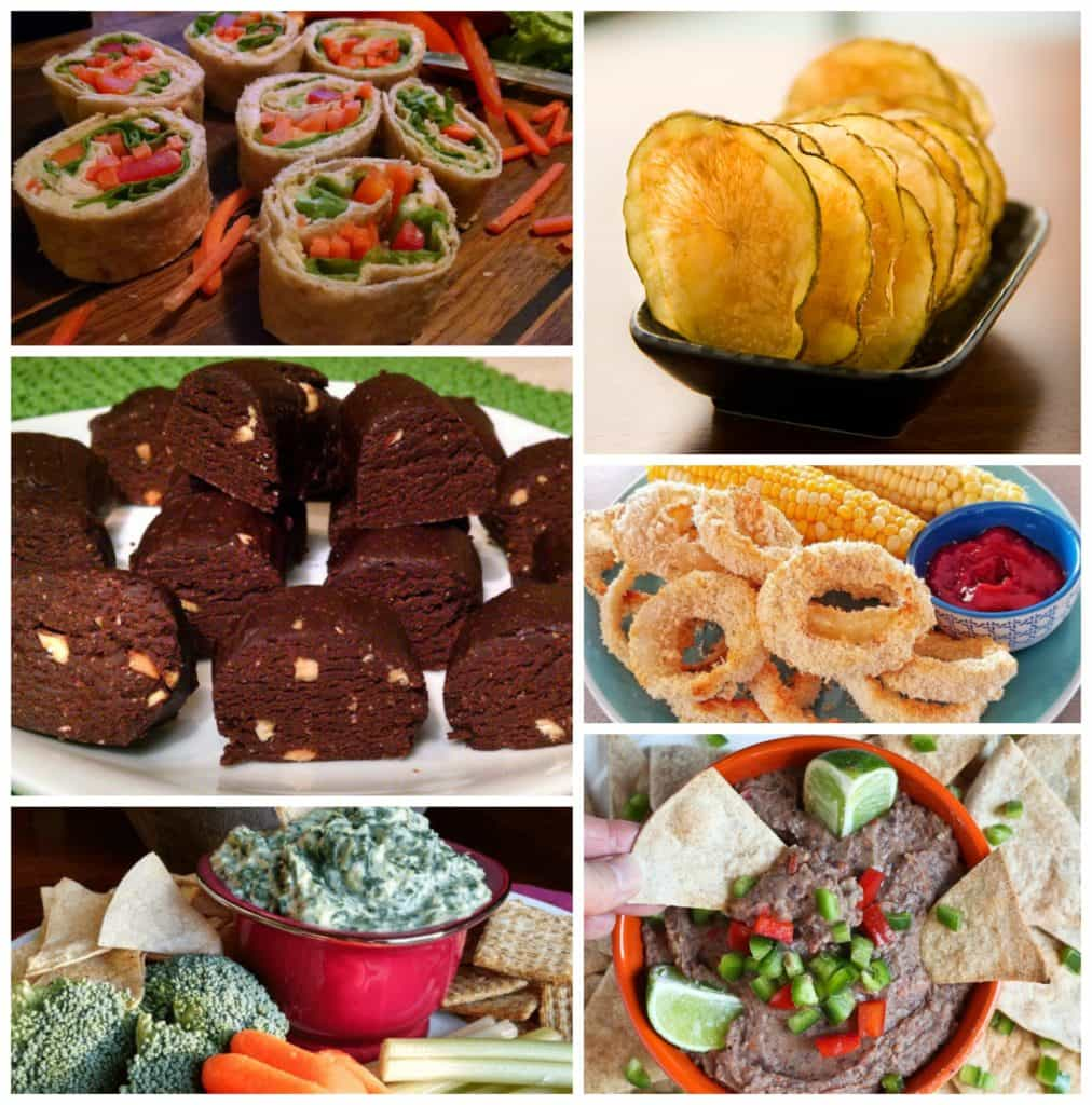vegan party snacks