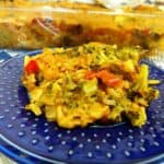 Vegan Broccoli & Rice Casserole