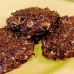 Plant-Based Chocolate Oat Cookies