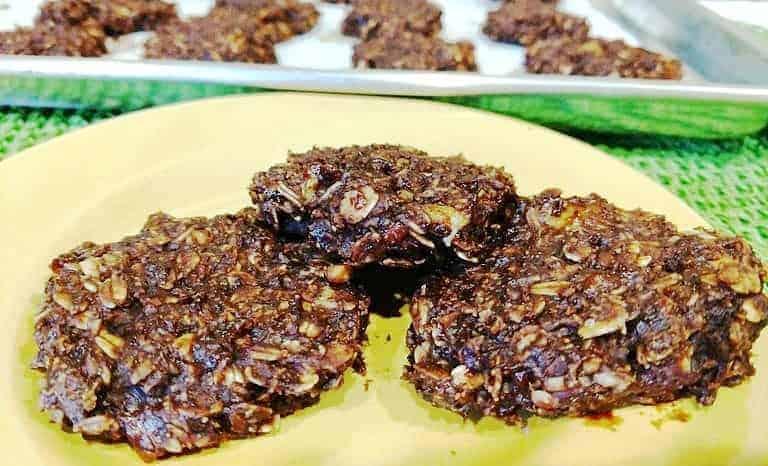 vegan Chocolate Oat Cookies