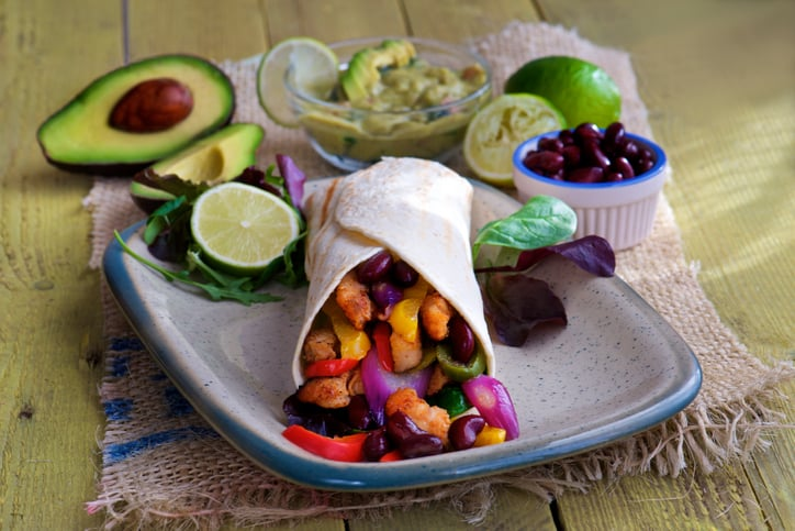 how to eat healthy at restaurants. mexican