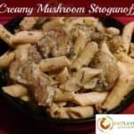 Vegan Creamy Mushroom Stroganoff