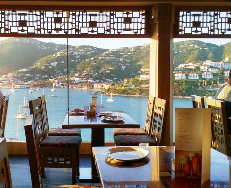 Review of Holistic Holiday at Sea dining