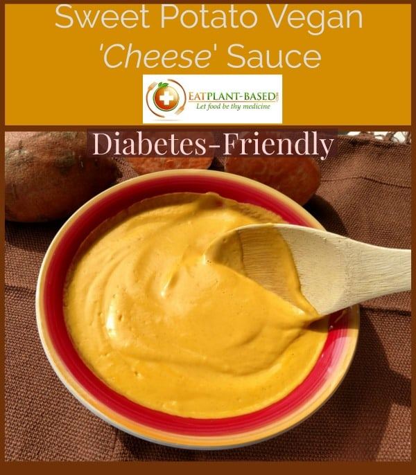 vegan cheese recipe. sweet potato vegan cheese sauce