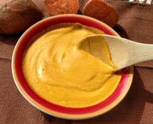 sweet potato vegan cheese sauce