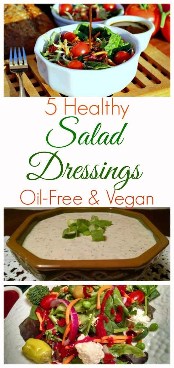 vegan salad dressings