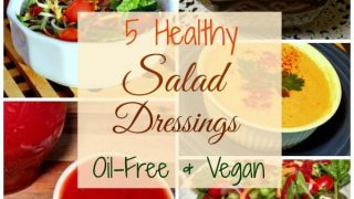 5 Healthy Oil-Free Salad Dressing Recipes