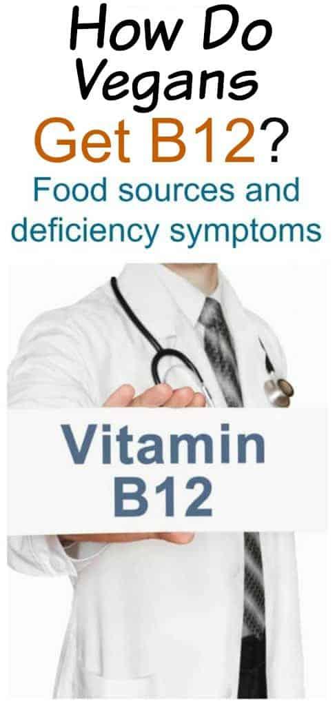 B12 supplements for vegans
