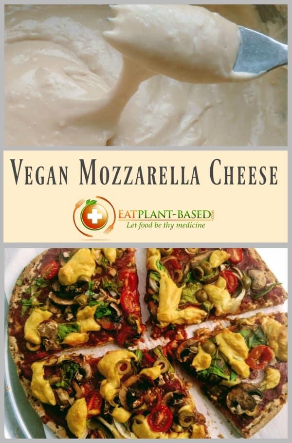 vegan cheese recipe. vegan mozzarella cheese