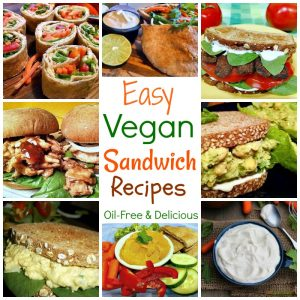 Easy Vegan Sandwich Spreads & Recipes