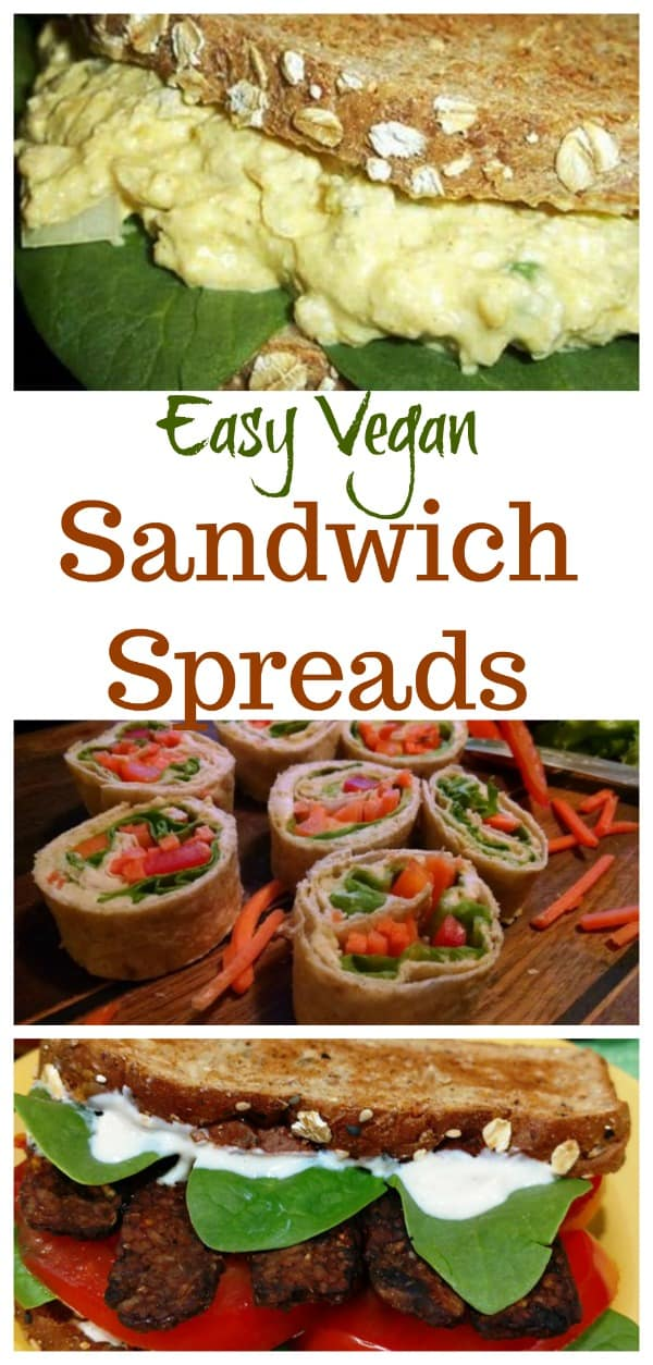 vegan sandwich spreads
