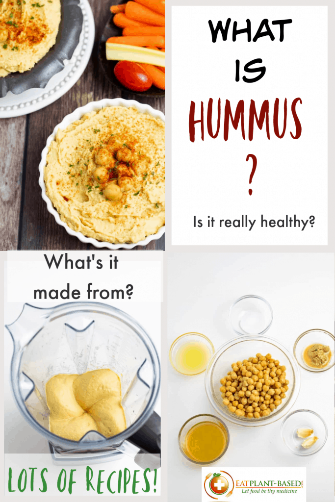 What is Hummus PIN size photo collage