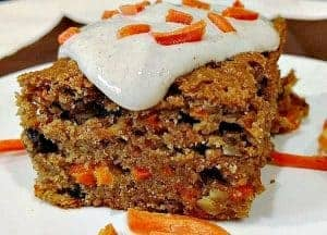 Healthier Carrot Cake Recipe | Vegan